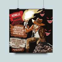 Invitation Indiana Jones
