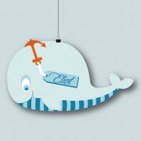 Faire-part Baleine